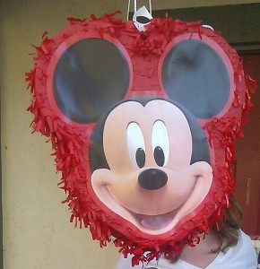 Mickey and minnie mouse birthday party games and activities a more traditional game we had was a hallmark mickeys clubhouse pull string pinata this more modern and safer version of the pinata was a pull string solutioingenieria Gallery